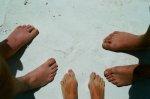 A czyje to stopy??? foto: Ania