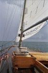 Pokład w deszczu foto: Peter