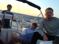 Na pokładzie Adrityka foto: Sławek