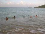 pływanie w oceanie foto: Kasia