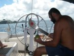 walka z kokosem foto: Kasia