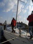 pierwsze kroki na naszych jachtach foto: Kasia