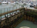 ciekawa śluza w Ramsgate  foto: Kasia