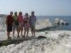 Pumeksowo wapienna plaża