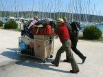 Bagażowy, bagażowy! Zdrastwujtie, ja toże bagażowy   foto: Norbert Lejeune