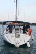 na festyn zjawiła się cała flotylla    foto: Kasia