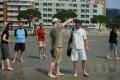 Grado - spacer po plaży  foto: Jola i Piotr