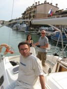 Stopa wody pod kilem  foto: Jola i Piotr