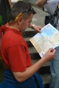 Triest - a moze ja znajde ruiny na mapie  foto: Jola i Piotr