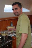 A żona myśli, że gotować nie potrafi  foto: Jola Szczepańska
