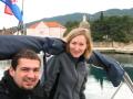 Gosia i Pejgan  foto: Monika Rodzeń
