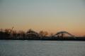 zachód słońca  foto: Ewa Waliszewska