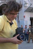 Dawid przy pracy  foto: Kamila Kłos