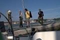 powrót na jacht  foto: Kamila Kłos