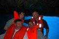 w jaskini  foto: załoga jachtu