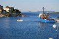 holowanie  foto: załoga jachtu