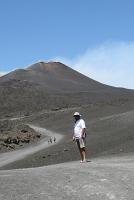 resztę drogi na szczyt pokonujemy piechotą  foto: Kasia