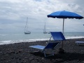 czarna plaża na Stomboli  foto: Kasia