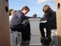 ciężka praca na pokładzie  foto: Kasia