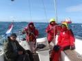 Rejs morski (Morze Północne, marzec 2012)