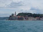 Piran od strony morza foto: Kasia