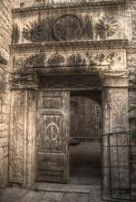 Trogir - renesansowy portal foto: Jola Szczepańska