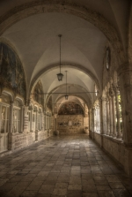 Dubrovnik - klasztor franciszkanów foto: Jola Szczepańska