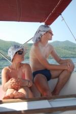 Nowożeńcy - Agnieszka i Piotr foto: Jola Szczepańska
