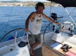 Kapitan zadowolony i dumny ze swojej dzielnej załogi :) foto: Kasia