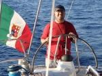 Dopływamy do Isola del Giglio foto: Kasia