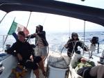 W drodze do portu Solenzara (Korsyka).  foto: Kasia