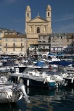 Bastia - stary port, kośćiół św. Jana Chrzciciela