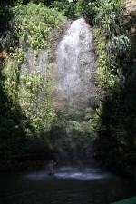 Wodospady na St.Lucia foto: Krzysztof Chmura