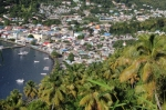 Widok na Castries - Saint Lucia