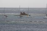 bar na Union Island, dostać się tu można tylko pontonem foto: Krzysztof Chmura
