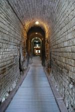 Pula, podziemia amfiteatru