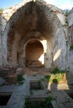 Bijar, ruiny kościoła klasztornego