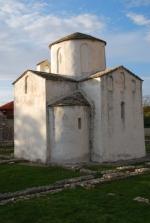 Nin, kościół św. krzyża, XI w