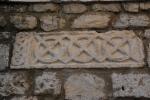 Nin, romańskie motywy geometryczne i plecionkowe