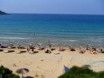 Słynna plaża żółwi caretta-caretta, Gerakas (Gerakari) foto: Kasia Koj