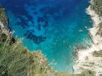Następna piękna zatoczka na Zakinthos  foto: Kasia Koj