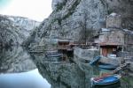 Kanion Matka w Macedonii foto: Jola Szczepańska