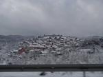 Całą drogę na rejs towarzyszył nam śnieg foto: Adam Łydka