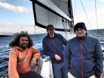 jednak wypływamy, płyniemy do Zakinthos foto: Kasia Koj