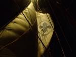 Nocne manewry do żagli foto: Kasia Koj