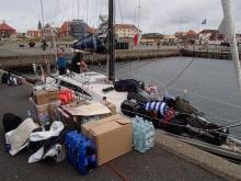 Skagen - przyjechała następna załoga :( foto: Kasia Koj