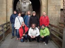 Mont-Saint-Michel i wejściowa brama