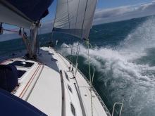 Rejs Kanał La Manche foto: Kasia Koj