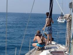 Rejs morski we Włoszech foto:  Kasia
