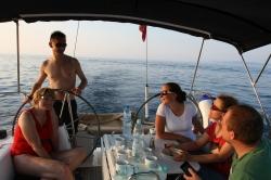 Rejs morski z dziećmi foto: Peter